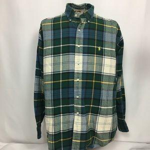 Ralph Lauren Blaire Flannel Shirt, Sz Large